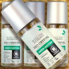 Urtekram Deo Roll-on Crystal GREEN MATCHA, 50 ml Naaturkosmetik Probiotik vegan