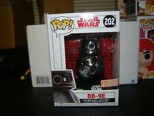 FUNKO POP STAR WARS METALLIC BB-9E BOXLUNCH EXCLUSIVE VHTF--IN HAND