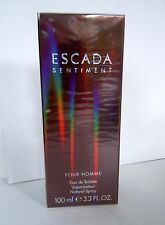ESCADA Sentiment Pour Homme  Eau de Toilette  100ml  Spray NEU Folie