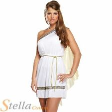 Ladies Roman Woman Toga Ancient Greek Goddess Fancy Dress Costume Outfit