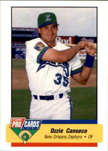 1994 New Orleans Zephyrs Fleer/ProCards #1480 Ozzie Canseco Havana Cuba Card