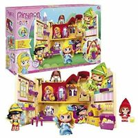 Pinypon Tales House Playset de Pinypon Includes a Figura of the Cinderella Toys