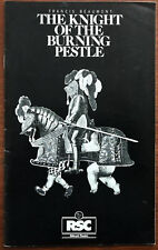 The Knight Of The Burning Pestle by Francis Beaumont,  Aldwych Theatre 1981