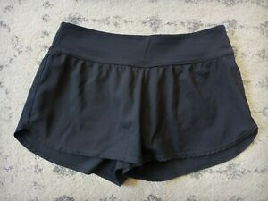 NIKE Athletic Lined Running Shorts Women's Size Small black