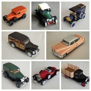 ERTL Vintage Vehicles - car miniature historic scale models (1/43)