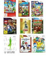 Nintendo Wii Spiele Riesen Auswahl ! * von Gut bis Sealed * Top Spiele