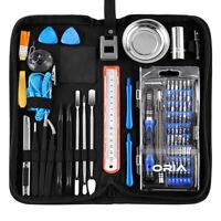 Blue 29/84 In 1 Magnetic Precision Screwdriver For Phone PC Kit Set Repair Tool
