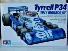 TYRRELL P34 - 1977 Monaco GP - 1:20 scale Tamiya kit 20053 - NEW sealed parts.