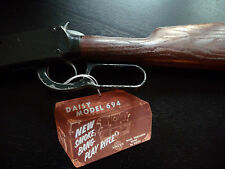 Daisy 694 Smoke, Bang, Play Rifle, StrongBox Hang Tag Reproduction -Rogers, AK