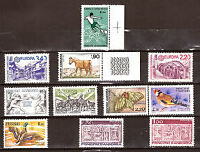 ANDORRE FR/ESP  timbres neufs: Usages courants , animaux,sports,et divers E214