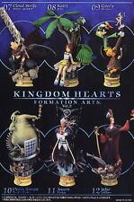 Square Enix Disney Kingdom Hearts Formation Arts Vol. 2 Full Color Ver. Set of 6