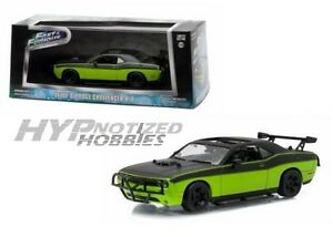 GREENLIGHT 1:43 FAST & FURIOUS: FURIOUS 7 LETTY'S DODGE CHALLENGER R/T 86230