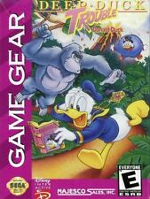 Deep Duck Trouble Starring Donald Duck (1993) New Factory Sealed USA Game Gear