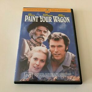 Paint Your Wagon DVD Clint Eastwood