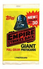 More details for 1980 - the empire strikes back  - giant photo cards - new & sealed