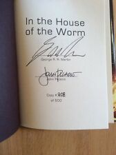SIGNED Limited Edition - George R R Martin In the House of the Worm John Picacio