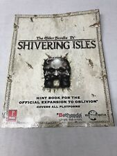 The Elder Scrolls IV Shivering Isles Hint Book for Official Expansion to Oblivio