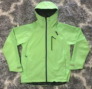 NEW BALANCE NB686 10k MM Waterproof Snowboard Infinite Jacket Large Neon-Green
