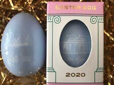 Official New 2020 President Trump White House Easter Egg Roll - BLUE Wooden Egg