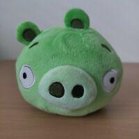 "Angry Birds NO SOUND Green Pig 6"" Plush Stuffed Animal Bad Piggies Toy"