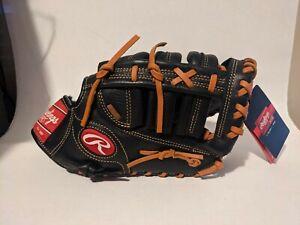 "Rawlings  PPRFM18  12.5"" Baseball Softball First Base Mitt Right Hand Throw"