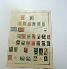 Estonia Lot 1918-1920 Used & mint Hinged Stamp Collection