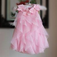 1pc baby infant girl clothes cotton bodysuit baby chiffon layered dress bodysuit