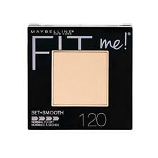 2 x Maybelline Fit Me Set & Smooth Pressed Powder Foundation - 120 Classic Ivory