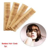 à la main anti - statique poche peigne coiffure outil de coiffure le bambou