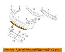 KIA OEM 08-10 Rondo Rear Bumper-Center Cover 866111D110