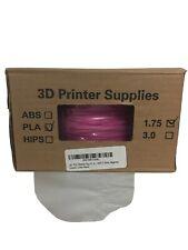 NEW 3D Printer Filament Supplies PLA Material Net weight 1KG 1.75mm. Magenta