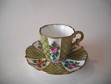 Peint Main Limoges-Teacup Collection