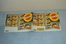 CORGI Toy Dealer Catalog - dated 1983 - USED Condition