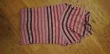 Joli Sous-Pull  à rayures - 12 ans - rose et gris