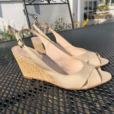 Russell & Bromley Nude Patent Leather Sandals