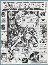 BRAINDAMAGE #1 minicomix ALICJA TROUT small press alternative minicomic 1995