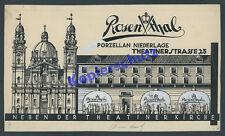 or. Reklame Rosenthal Porzellan Filiale Geldner Design Odeonsplatz München 1930