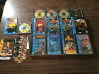 14 Sega Cd Lot - Star Wars + Ecco + Power Rangers + Ground Zero +  Beamish