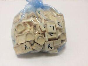 Bag Of Scrabble Letters Pieces