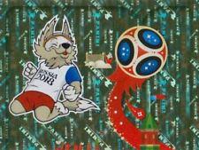 Panini Sticker Fußball WM 2018 Russia Nr. 3 Plakat Puzzle Bild Oben NEU 003