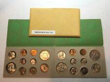 1958 U.S. Toned Double Mint Set.