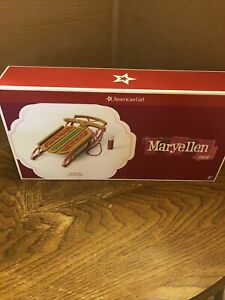 American Girl Maryellen Sled Wooden NIB NRFB NEW
