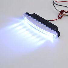2pc Super White 8 LED Universal Car Light DRL Daytime Running Head Lamp DC 12VR8