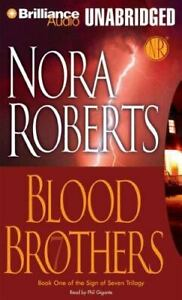 Blood Brothers by Nora Roberts (2007, Unabridged) 9 CDs