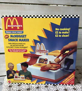 Mattel Vtg 1993 McDonald's Happy Meal Magic McNugget Snack Maker 11694 NIB ASIS