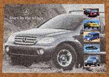 1996 MERCEDES BENZ New Models Preview Sales Brochure - SLK, C, E, V, A, M Class