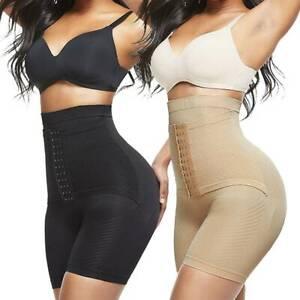 Fajas Colombianas Women High Tummy Waist Shapewear Butt Lifter Shaper Panty Slim