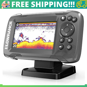FISH FINDER Bullet Transducer 2-in-1 Sonar Fishing Sport Outdoor Boating Tracker