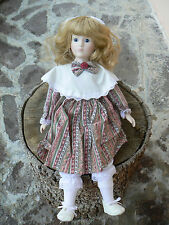 NUOVO Anna's Dolls 1984 by Anando Porcelain Doll Bambola porcellana 2