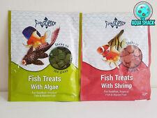 Fish Science Treats Food Tablets Sticks on Glass, Algae/Shrimp Pleco Aquarium
